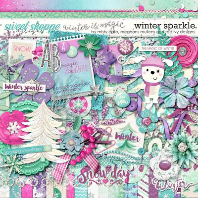 Winter Sparkle Meghan Mullens, Misty Cato and Red Ivy Designs