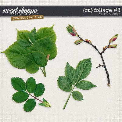 CU Foliage #3 by Red Ivy Design