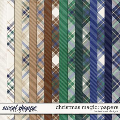 Christmas Magic: Papers by River Rose Designs