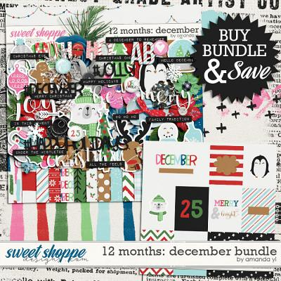 12 Months: December Bundle by Amanda Yi