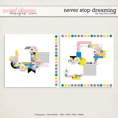 Never Stop Dreaming by Two Tiny Turtles