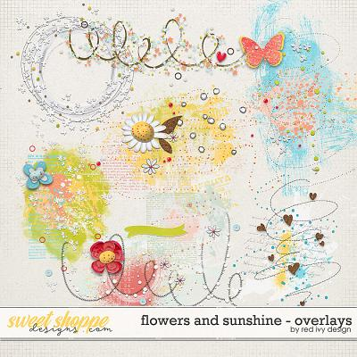 Flowers and Sunshine - Overlays by Red Ivy Design