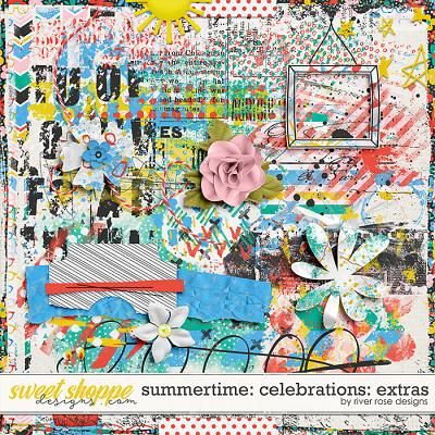 Summertime Celebrations: Extras by River Rose Designs