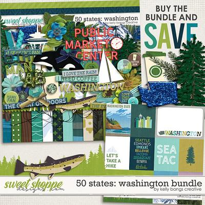 50 States: Washington Bundle by Kelly Bangs Creative