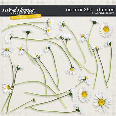 CU mix 250 - daisies by WendyP Designs
