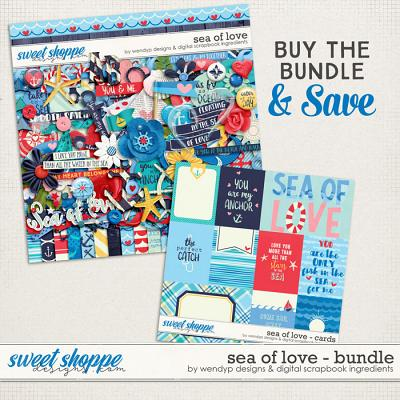 Sea of love - Bundle by Digital Scrapbook Ingredients and WendyP Designs