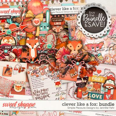 clever like a fox bundle: simple pleasure designs by jennifer fehr