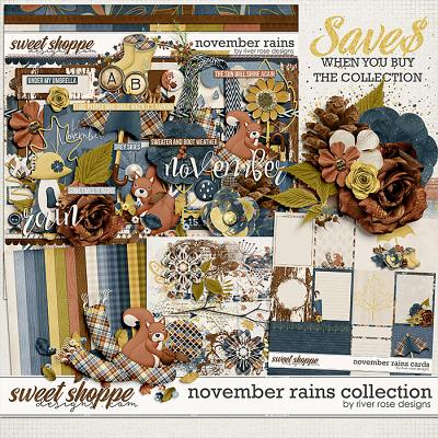 November Rains Collection by River Rose Designs