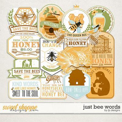 Just Bee Words by LJS Designs