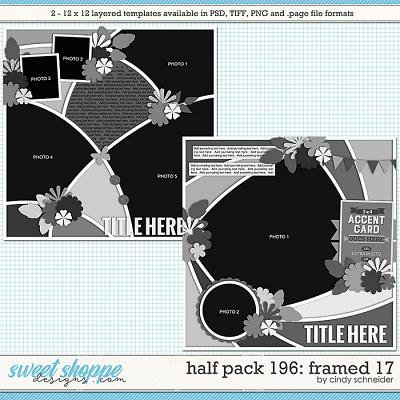 Cindy's Layered Templates - Half Pack 196: Framed 17 by Cindy Schneider