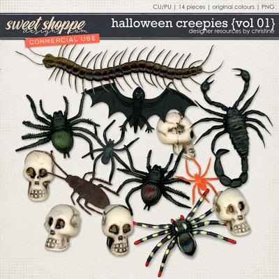 Halloween Creepies {Vol 01} by Christine Mortimer