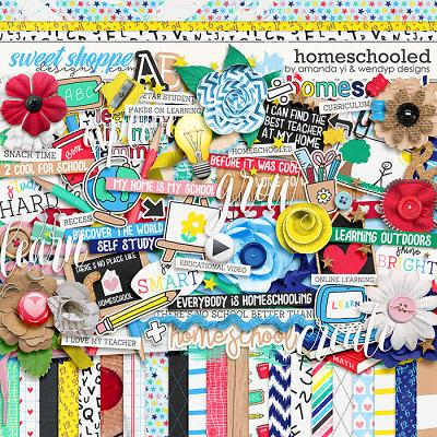 Homeschooled by Amanda Yi & WendyP Designs