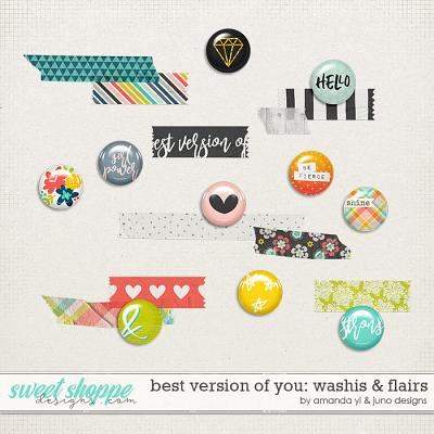 Best Version Of You: Washis & Flairs by Amanda Yi & Juno Designs
