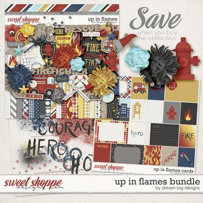 Up in Flames Bundle by Dream Big Designs