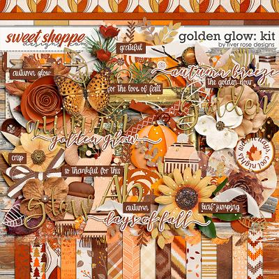 Golden Glow: Kit by River Rose Designs
