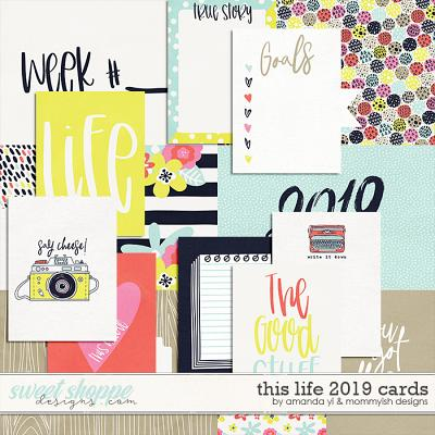 This Life 2019 Cards by Amanda Yi & Mommyish Designs