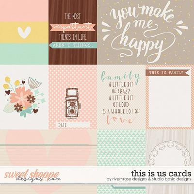 This Is Us Cards by River Rose & Studio Basic Designs