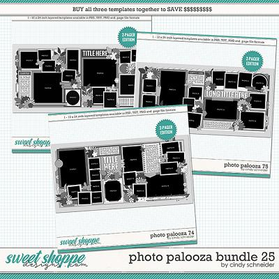 Cindy's Layered Templates - Photo Palooza Bundle 25 by Cindy Schneider
