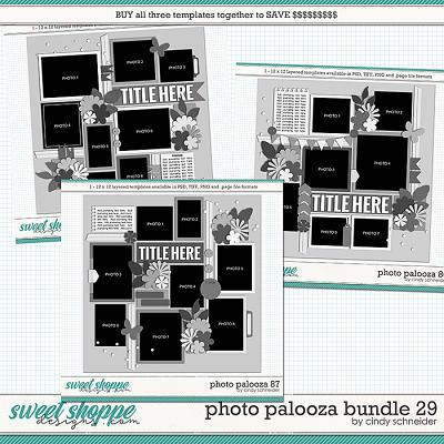 Cindy's Layered Templates - Photo Palooza Bundle 29 by Cindy Schneider