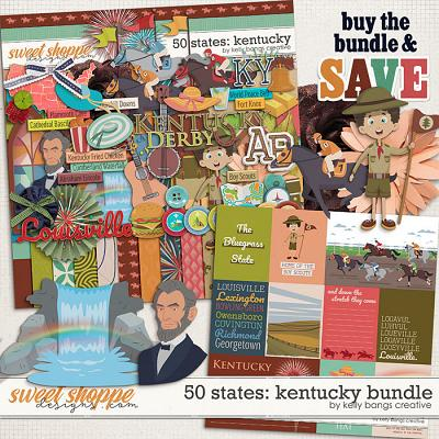50 States: Kentucky Bundle by Kelly Bangs Creative