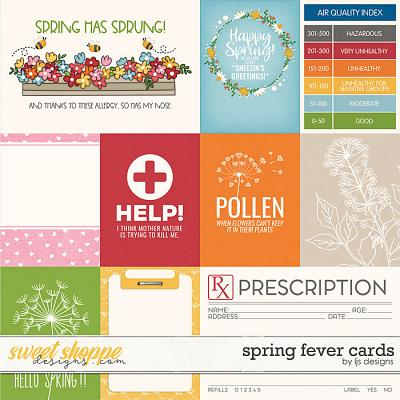 Spring Fever Cards by LJS Designs