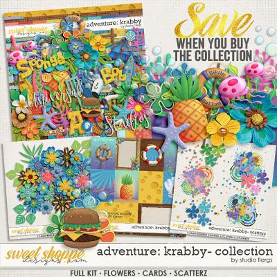 Adventure: Krabby- COLLECTION & *FWP* by Studio Flergs