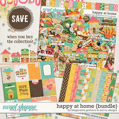 Happy at Home - Bundle by Blagovesta Gosheva & Red Ivy Design