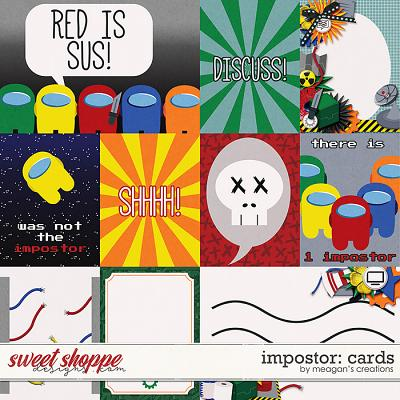 Impostor: Cards by Meagan's Creations