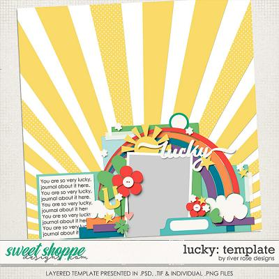 Lucky: Template by River Rose Designs