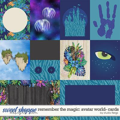Remember the Magic: AVATAR WORLD- CARDS by Studio Flergs