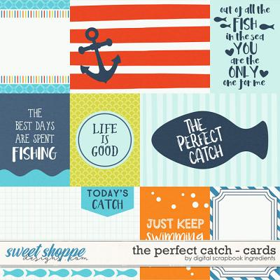 The Perfect Catch | Journal Cards by Digital Scrapbook Ingredients