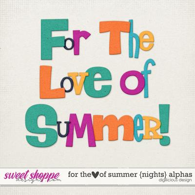 For the Love of Summer {Nights} Alphas by Digilicious Design