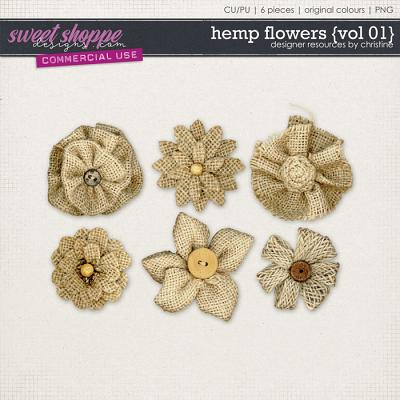 Hemp Flowers {Vol 01} by Christine Mortimer