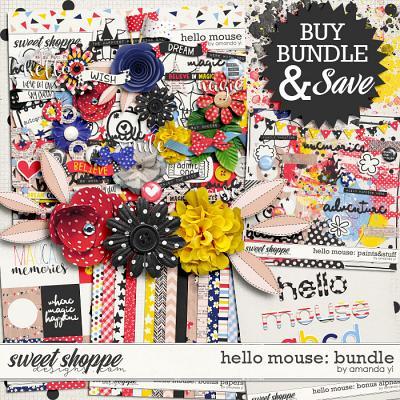 Hello Mouse: Bundle by Amanda Yi