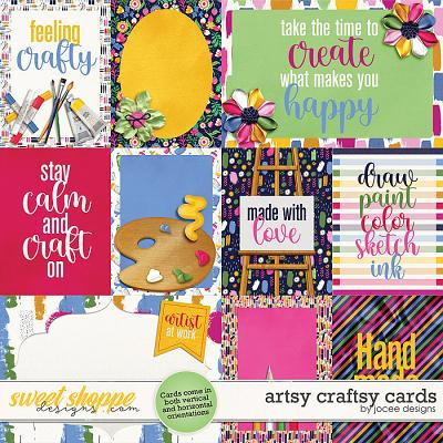 Artsy Craftsy Cards by JoCee Designs