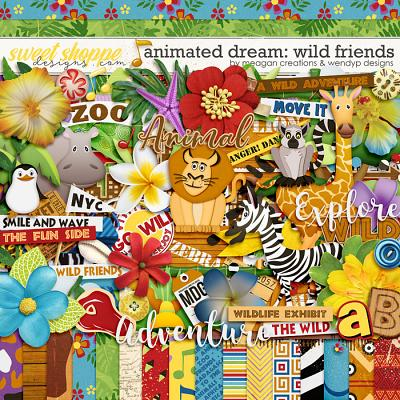 Animated Dream: Wild Friends by Meagan's Creations and WendyP Designs