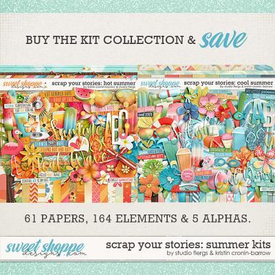 Scrap Your Stories: SUMMER KITS by Studio Flergs & Kristin Cronin-Barrow
