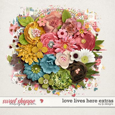 Love Lives Here Extras by LJS Designs