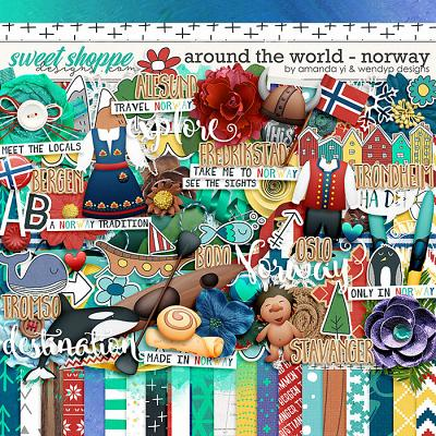 Around the World: Norway by Amanda Yi & WendyP Designs