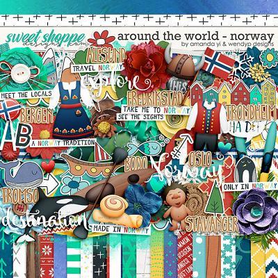 Around the World: Norway by Amanda Yi & WendyP Designs
