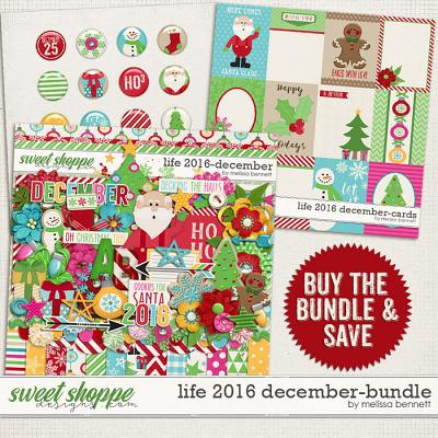 Life 2016-December Bundle by Melissa Bennett