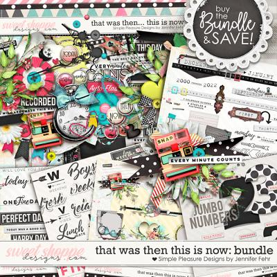 that was then this is now bundle: Simple Pleasure Designs by Jennifer Fehr
