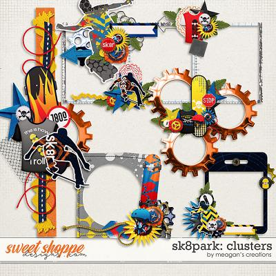 Sk8park: Clusters by Meagan's Creations