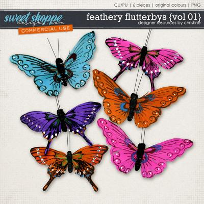 Feathery Flutterbys {Vol 01} by Christine Mortimer