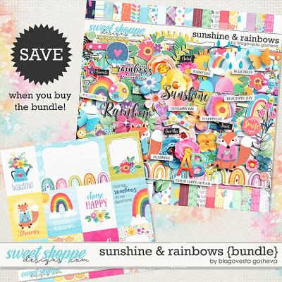 Sunshine & Rainbows {bundle} by Blagovesta Gosheva