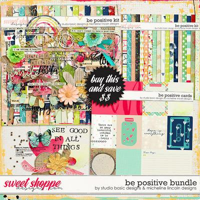 Be Positive Bundle by Studio Basic and Micheline Lincoln Designs