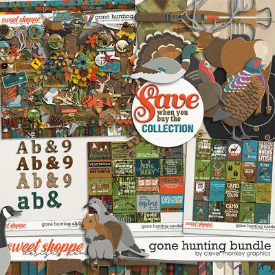 Gone Hunting Bundle by Clever Monkey Graphics