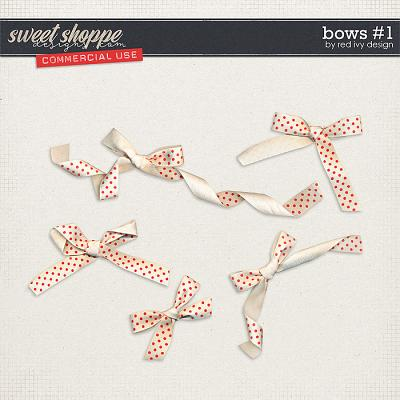 CU Bows #1 by Red Ivy Design