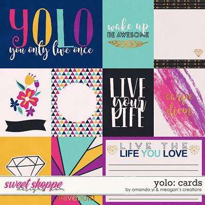 Yolo: Cards by Amanda Yi & Meagan's Creations