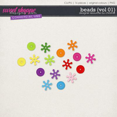 Beads {Vol 01} by Christine Mortimer